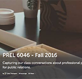 Storify feed for PREL6046